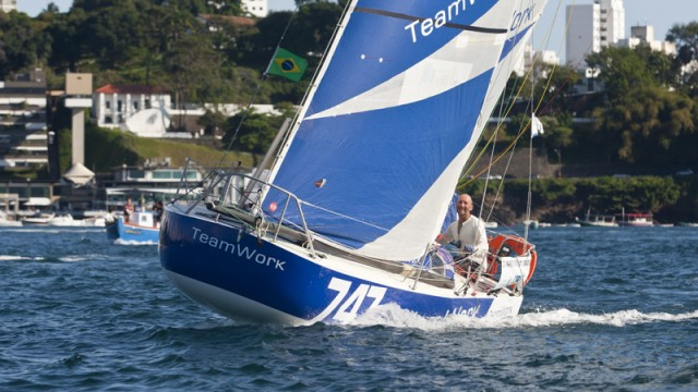 David Raison remporte la Transat 6,50 sur TeamWork Evolution  - ©