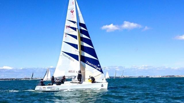HEC Lausanne Sailing Team décroche la victoire de la Course Croisière EDHEC - ©