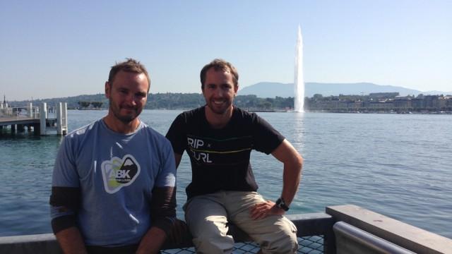 Bertrand Delesne et Nils Palmieri : Sportifs avant tout ! - ©