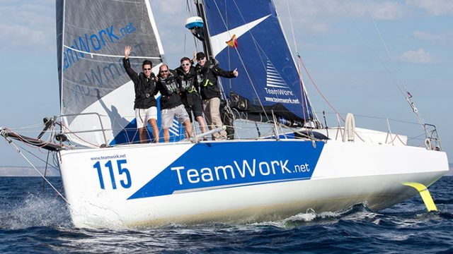Le TeamWork Sailing Tour fait route vers le détroit de Gibraltar - ©