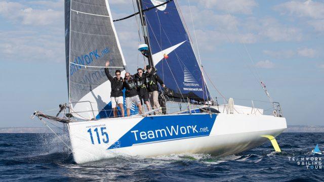 Déjà 2 mois d'aventure pour le TeamWork Sailing Tour - ©