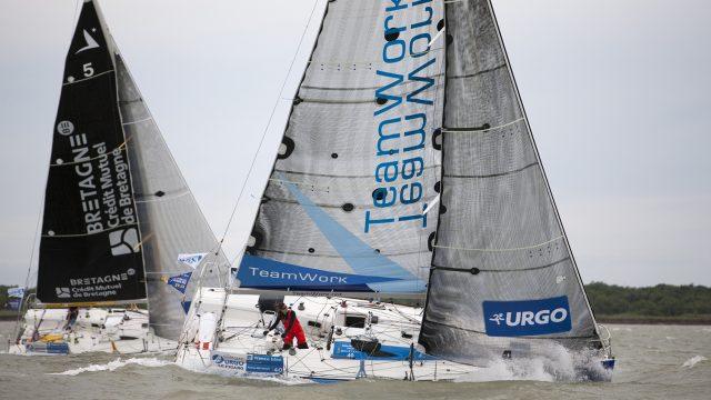Justine Mettraux 7ème de la Solitaire Urgo Le Figaro - ©