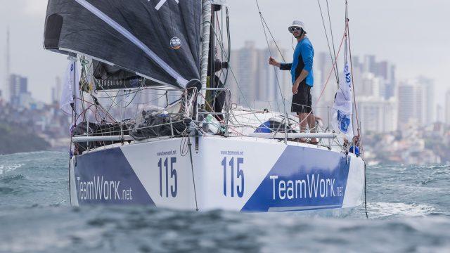 4ème place pour Justine Mettraux et Bertrand Delesne! - ©