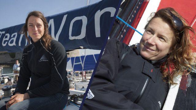 Justine Mettraux embarque Isabelle Joschke sur la Transat AG2R La Mondiale - ©