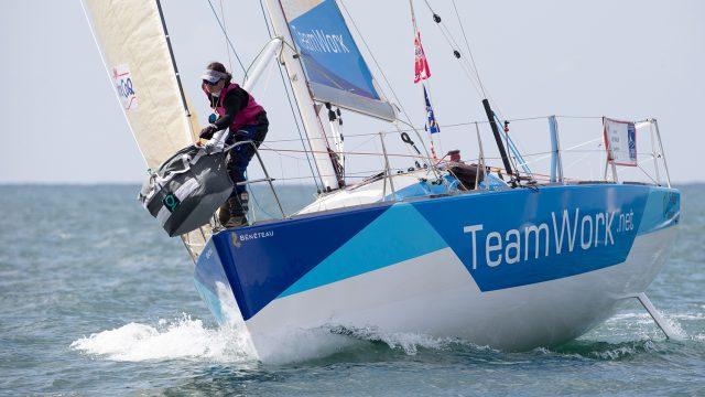 Justine Mettraux - C'est reparti pour une nouvelle saison sur le circuit Figaro ! - ©