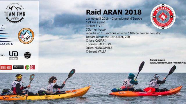 La Team FMR au départ de la finale des Championnats d'Europe de Raid Aventure - ©
