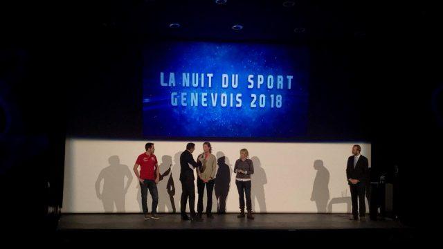 Justine Mettraux et Sophie à Lavaud à l'honneur de la Nuit du Sport Genevois - ©
