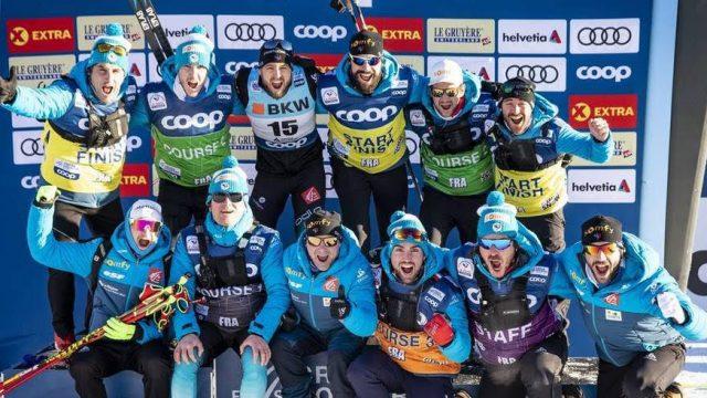 Baptiste Gros : 3ème du sprint de Davos - ©