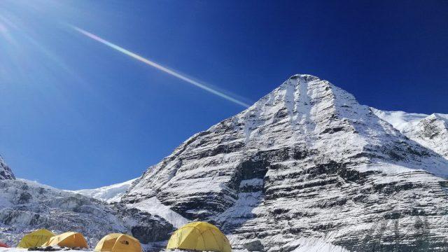 Sophie Lavaud ne montera pas au sommet du Dhaulagari en 2018 - ©