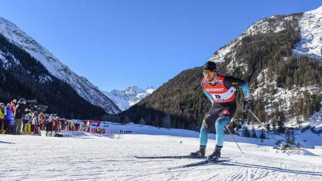 Baptiste Gros 10ème du sprint de Cogne (Italie) - ©