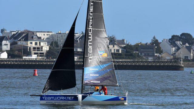 Nouvelle saison, nouveau bateau pour Justine Mettraux - ©