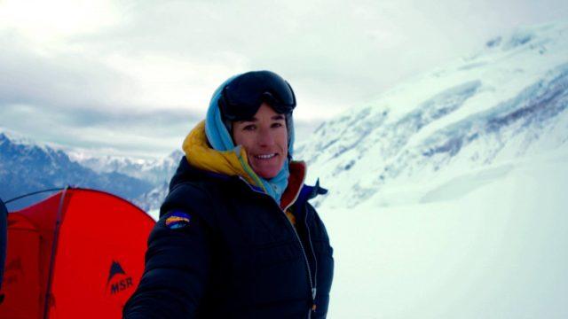 Enchaînement Everest -Lhotse pour Elisabeth Revol - ©