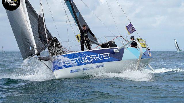 Justine Mettraux et Julien Villion terminent 8ème de la grande course - ©
