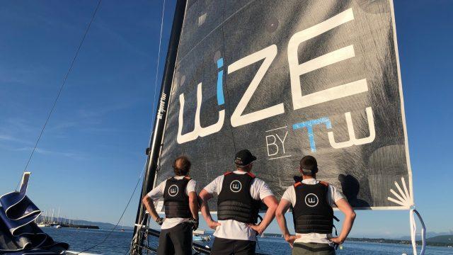 Après plusieurs semaines à l'arrêt, l'équipage M2 est de retour sur l'eau - ©
