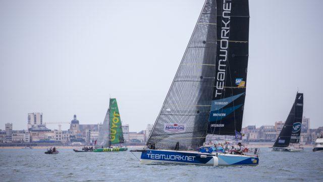 Une première course en Figaro prometteuse pour Nils Palmieri - ©