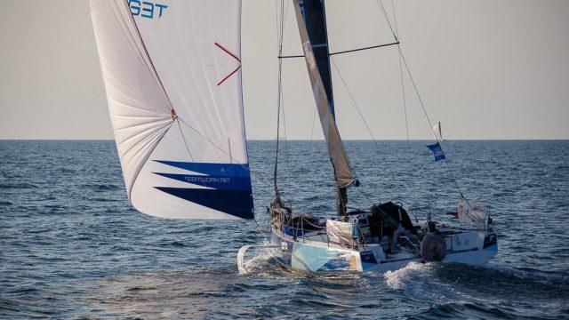 Nils Palmieri : 15ème de la 3ème étape de La Solitaire du Figaro - ©