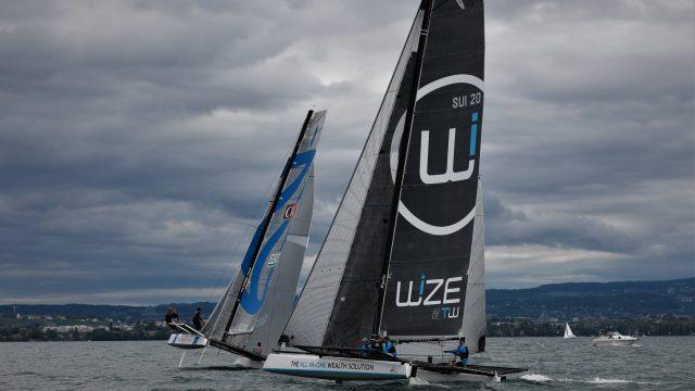 4ème place pour Wize by TeamWork au Grand Prix du Yacht Club de Genève - ©