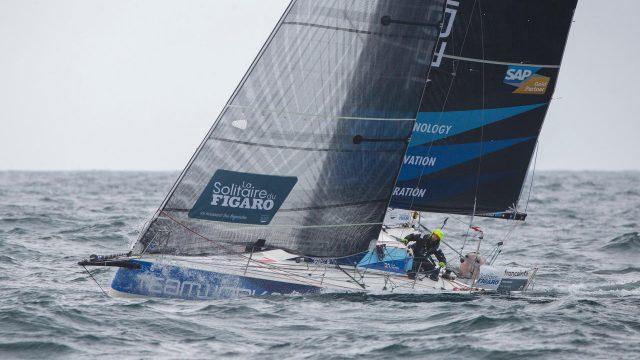 La Solitaire du Figaro - Nils Palmieri prêt pour la 3ème étape - ©