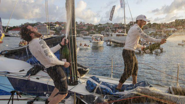 Nils Palmieri et Julien Villion vainqueurs de la Transat en Double - ©