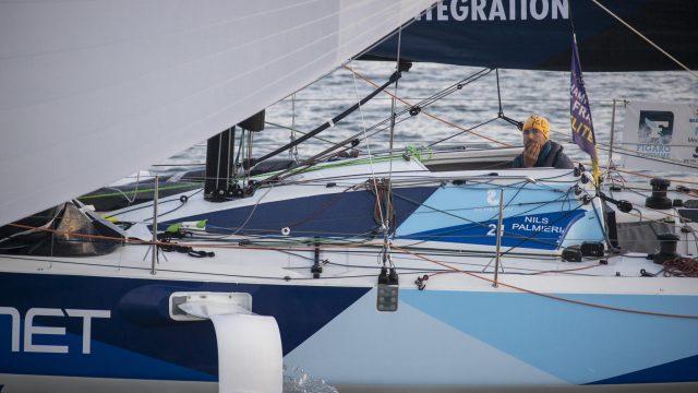 Nils raconte sa 3ème étape de la Solitaire du Figaro - ©