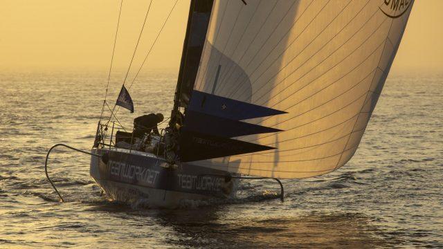 Solitaire du Figaro - Des débuts compliqués pour Nils sur la 3ème étape - ©