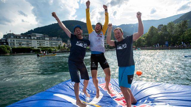 Chrigel Maurer vainqueur pour la 7ème fois de la Red Bull X-Alps - ©